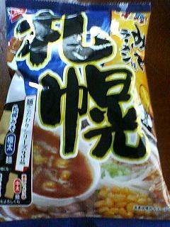 ベビースター札幌味噌ラーメン味