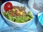 シンガポール航空バンコクーシンガポール行きの機内食