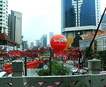 チャイナタウンの景色