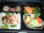 ANAスーパーシートプレミアムの機内食