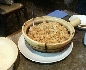大珍楼別館の炊き込みご飯2