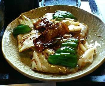 五味八珍の回鍋肉ランチ