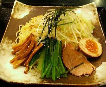 五味八珍のつけ麺味噌味