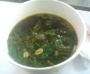 上海市第一食品商店の牛肉粉絲湯
