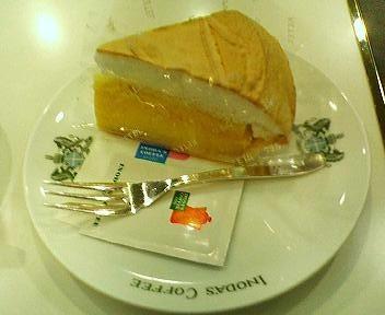 イノダコーヒのケーキセット