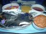 シンガポール航空ヨハネスブルグーシンガポール機内食
