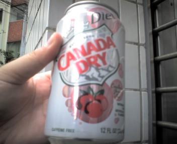 カナダドライダイエットクランベリー味