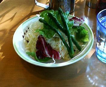 KIKUYACAFEのサラダ