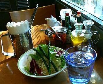 KIKUYACAFEのサラダ、ポテトサラダ