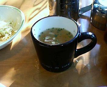 KIKUYACAFEのスープ
