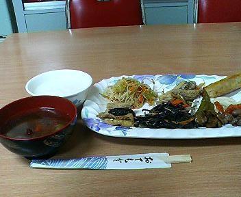 沖縄金壺食堂のバイキング