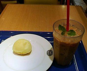 神戸屋キッチンのドリンクとチーズパン