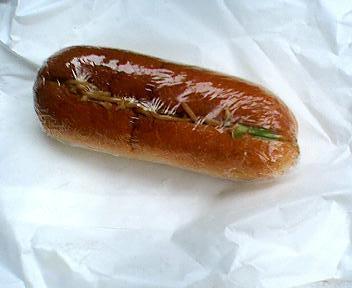 中井パン店焼きそばパン