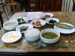 南原食堂の定食