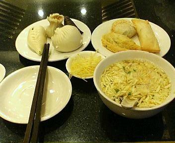 南翔饅頭店の3階長興楼