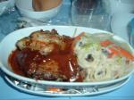成田ーバンコク間の機内食