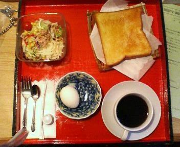 サンキョウビジネスホテルの日曜日の朝食
