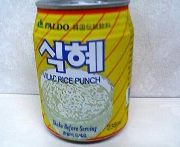 韓国のシッケ