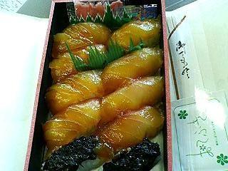 八丈島アカコッコの島寿司