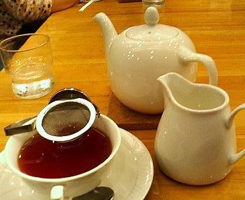 ティーハウスタカノの紅茶