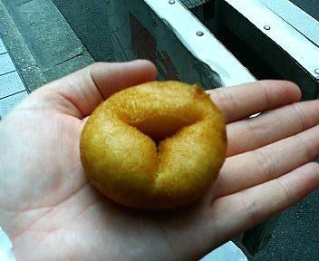 こんなもんじゃの豆乳ドーナツ