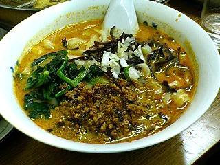華隆餐館の刀削麺