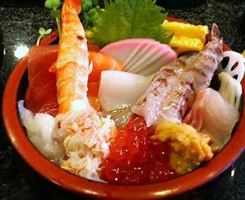魚がし鮨の魚がし丼