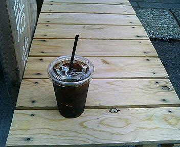 やなか珈琲店のアイスコーヒー