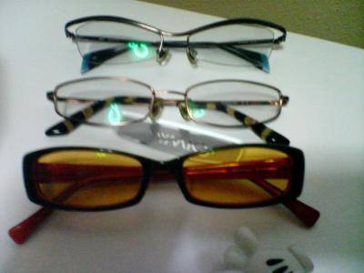 メガネ3本