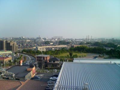 直子邸からの景色