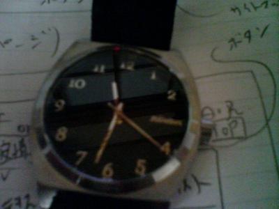ニクソンの時計