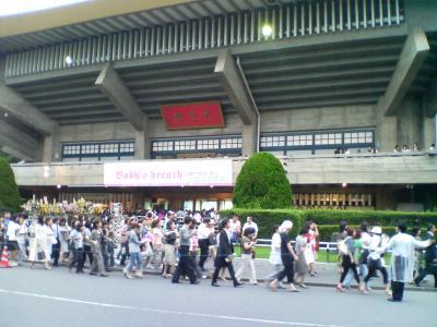 武道館の外観
