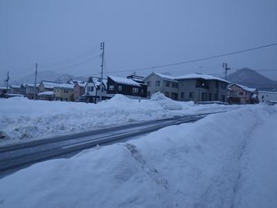 ここも雪深く