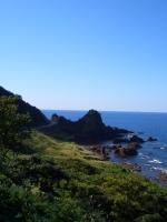 県道からの風景