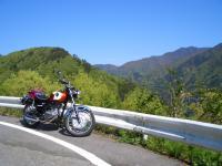 小菅村から丹波山村へ