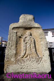 地蔵堂の石棺仏