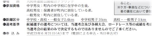 2011県民駅伝選考会