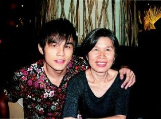 杰倫と媽媽