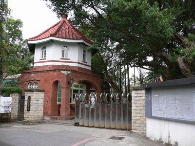 淡江中学入り口