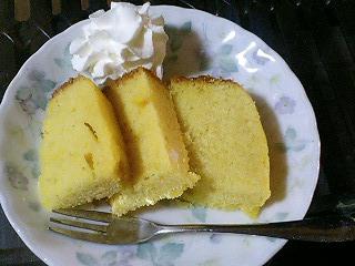 南瓜ケーキ