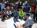 トライアスロン 救急救命訓練