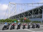 関門橋とカタナ