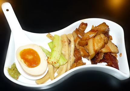 夏野菜の冷製麺 (緑)具