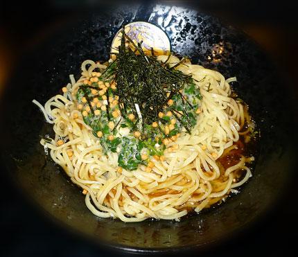 夏野菜の冷製麺 (緑)麺