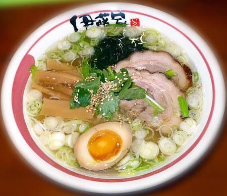 伊藤家流塩らぁ麺