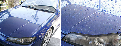 洗車の手順(1~2)