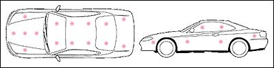 S15のスプレーポイント