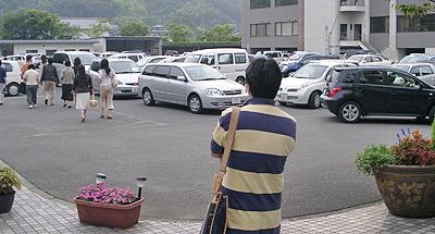 高嶋ちさ子コンサート終了後駐車場の様子