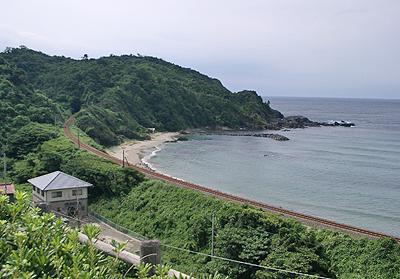 JR山陰本線:三保三隅駅←→折居駅 間