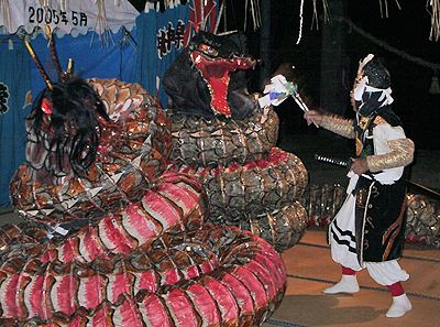 大蛇(おろち)